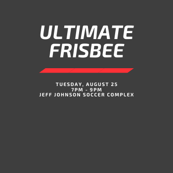 CANCELED: Ultimate Frisbee