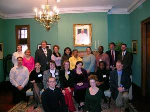 2005 candidates and sponsors at rectory