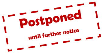 Masses are Suspended until further Notice