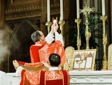 Reflections on the Eucharist during a time of lockdown