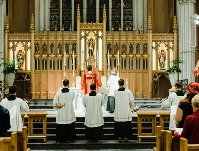 New Sunday Mass & Choral Evensong Livestream Feature
