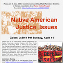 Native American Justice Issues