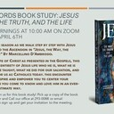 Beyond Words: Jesus, the Way, the Truth, and the Life