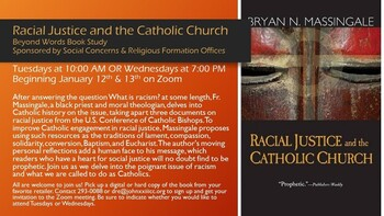 Beyond Words: Racial Justice and the Catholic Church Book Study