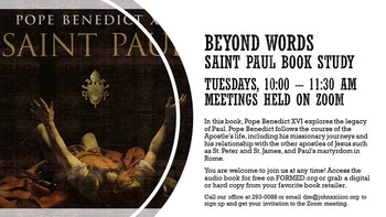 Beyond Words: Saint Paul Book Study