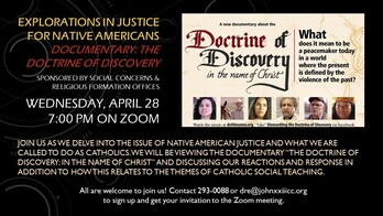 Explorations in Justice for Native AmericansDocumentary: The Doctrine of Discovery