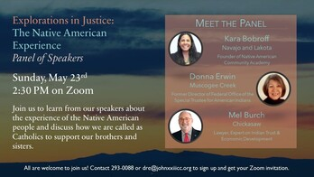 Explorations in Justice: The Native American Experience - Panel of Speakers