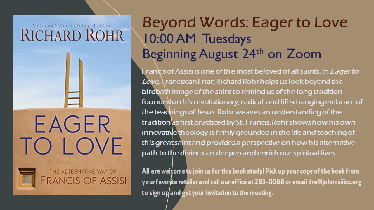 Beyond Words Book Study: Eager to Love