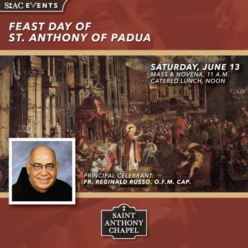 Feast Day of Saint Anthony of Padua
