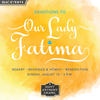Devotions to  <div>   Our Lady of Fatima </div>