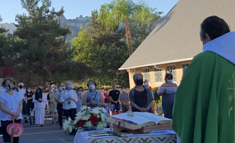 First Outdoor Mass