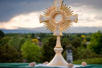 Welcome Back! Solemnity of Corpus Christi – Eucharistic Procession