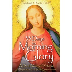 From Fr. Michael E. Gaitley, MIC, author of the bestselling book Consoling the Heart of Jesus, comes an extraordinary 33-day journey to Marian consecration with four giants of Marian spirituality:  St. Louis de Montfort, St. Maximilian Kolbe, Blessed Teresa of Calcutta, and Blessed John Paul II. Fr. Michael masterfully summarizes their teaching, making it easy to grasp and simple enough to put into practice. More specifically, he weaves their thought into a user-friendly, do-it-yourself retreat that will bless even the busiest of people. So, if you've been thinking about entrusting yourself to Mary for the first time or if you're simply looking to deepen and renew your devotion to her, 33 Days to Morning Glory is the right book to read and the perfect retreat to make. If you're seeking to consecrate yourself to Mary for the first time or you're simply looking to deepen and renew your consecration, this book is an incredible blessing for even the busiest of people.