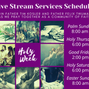 Schulenburg-High Hill Live Stream Holy Week Services