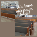 Our Pews Are Back In Church!