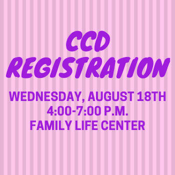 CCD REGISTRATION WED AUG 18