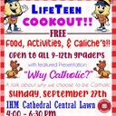 Holy Cross Youth Group Cookout!