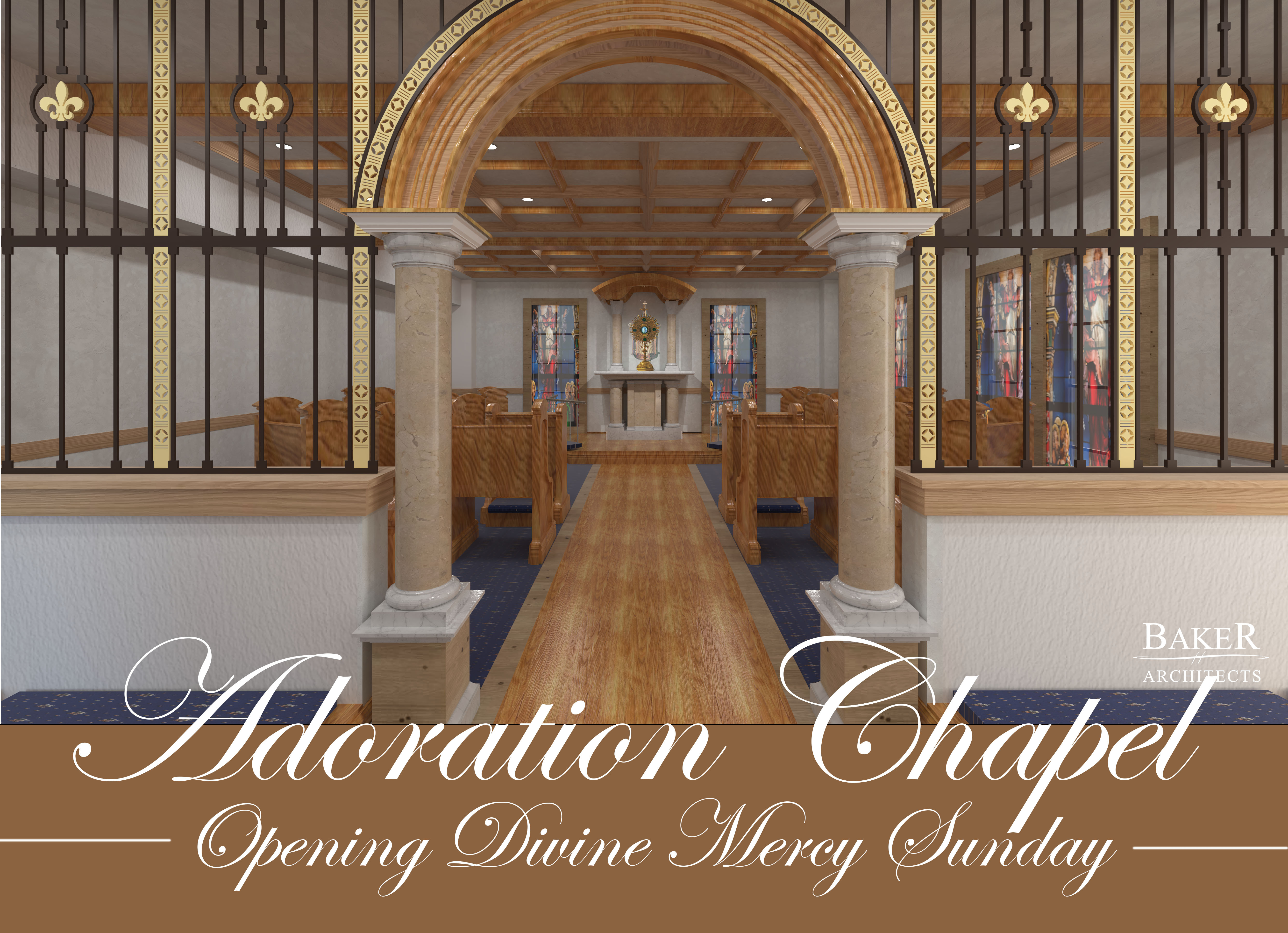 ADORATION CHAPEL  COMING SOON!