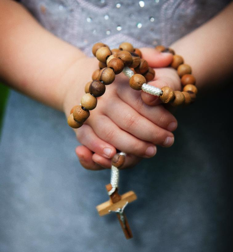 Click here to learn how to pray the rosary