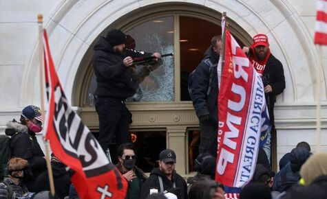 Violence at State Capitols and U.S. Capitol