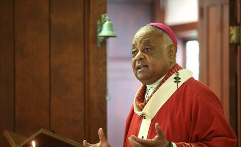"Washington Cardinal Gregory said:  ""a healing of America's soul"" is needed."