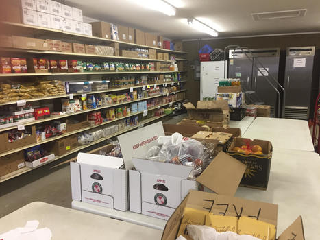 Inside the Food Pantry