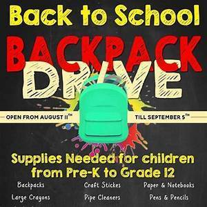 Outfit a Child for School - School Supplies Collection