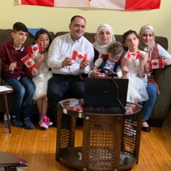Sponsored Family - New Canadians