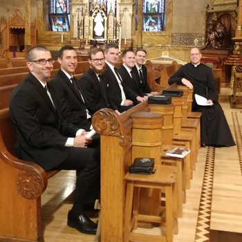 Six New Postulants for the Canons Regular of St. John Cantius