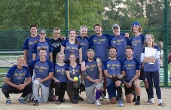 St. Peter's Canons Softball Team is in the World Series!