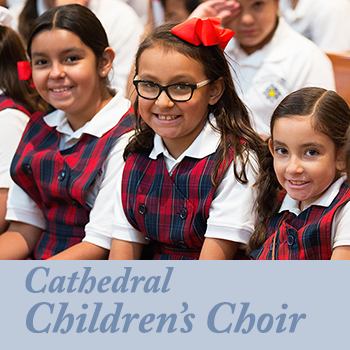 Auditions for new Cathedral Children's Choir