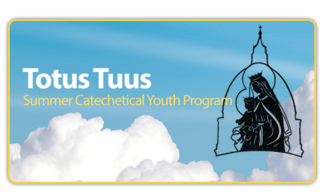 Totus Tuus coming to St. Mary's in June!