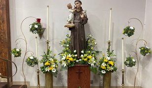 June 13 - Feast day of St. Anthony of Padua (Our Patron Saint)