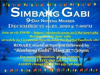 Simbang Gabi Virtual Novena