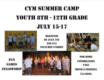 Catholic Youth Church Camp