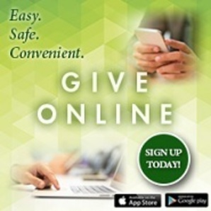 online giving is easy, safe, and convenient