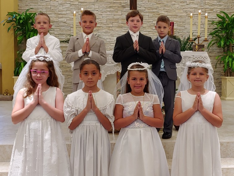 Children 1st Holy Communion Day