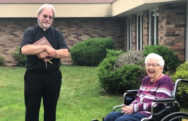 Catholic Service Award Winner Celebrates 100th Birthday!