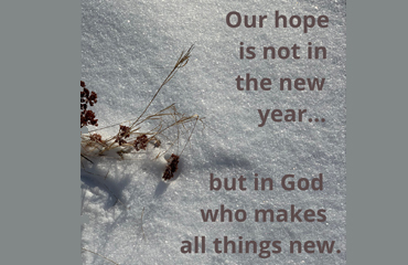 Hope in the New Year 2021