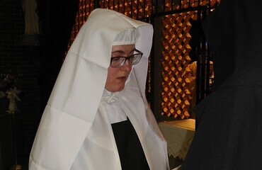 Carmelite Community joyfully welcomes new sister