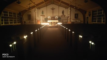 Birch Creek parishioners remembered by candlelight on Easter Vigil