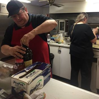 St. Francis Connection Center serves hot meals to those in need at Sawyer