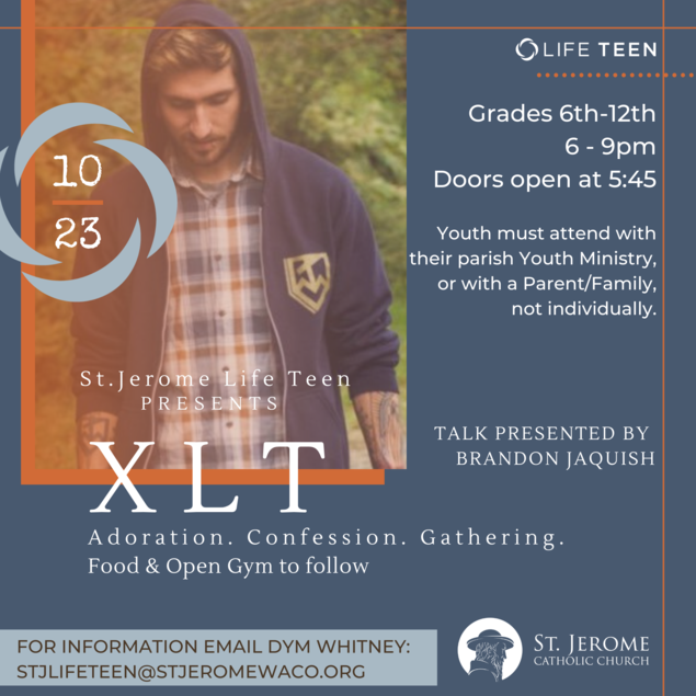 Life Teen XLT: Join Us 10/23/2020