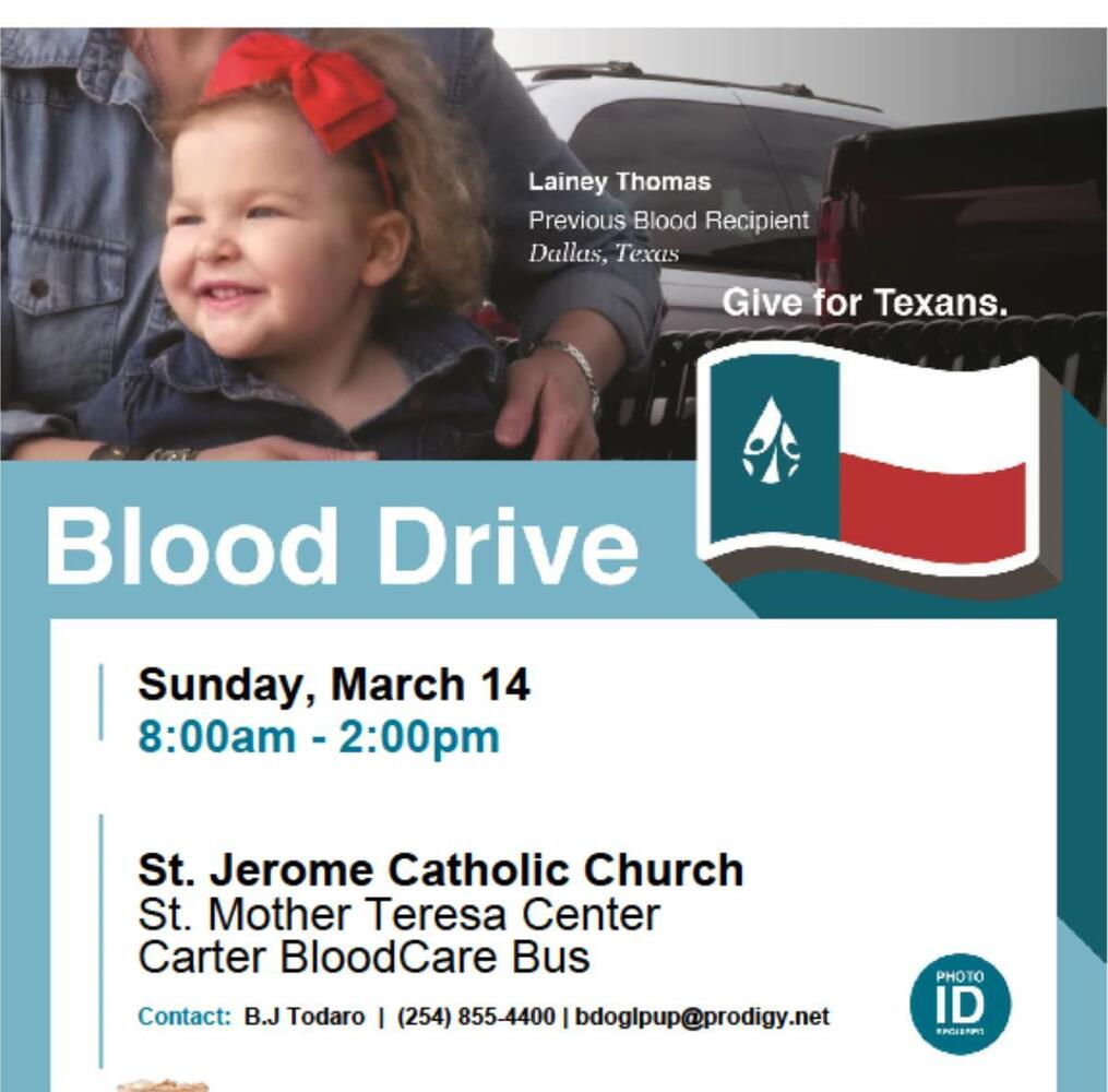 Blood Drive at St. Jerome