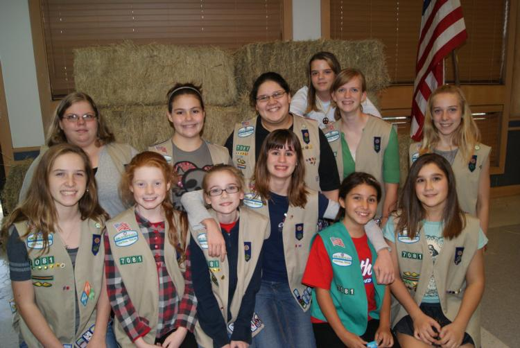 Girl Scout Troop 7081 Fall 2011
