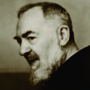 Padre Pio: a happy man!