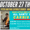 Special Faith Formation Family Event:  All Saints Day Carnival