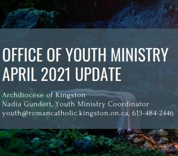 April Youth Ministry Update