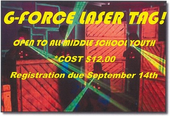 MSYE G-Force Laser Tag!