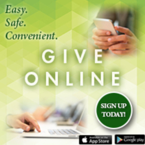 OSV online giving. For Donations set up before April 04.07.2021